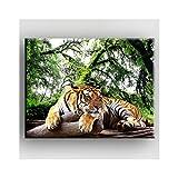 Deco Soon Cuadro el Tigre Indécis