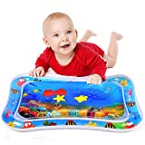 Tapis de Jeu d'eau Gonflable de bébé pour Petits Enfants Temps Abdominal Centre...