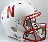 Riddell NCAA Nebraska Cornhuskers tamaño Completo Velocidad réplica Casco, Rojo, Mediano