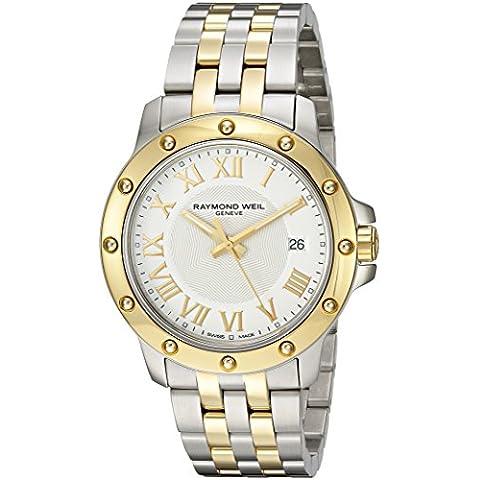 Raymond Weil de hombre 5599-STP-00308cuarzo analógica Swiss dos tonos reloj