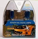 H11 Xenon Halogenlampe Night Light Super White 6000K 12V 55Watt