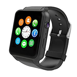 Smart Watch-Smartwatch with Heart Rate Monitor Bluetooth Smartwatch Supports SIM Card Works With Android and iOS System Smartphones