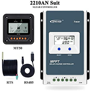 12V//24V LCD Display MPPT Solar Laderegler Solarregler Tracer 1210AN 20A