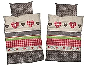 casatex 4 tlg set bettw sche kitzb hel im landhausstil. Black Bedroom Furniture Sets. Home Design Ideas