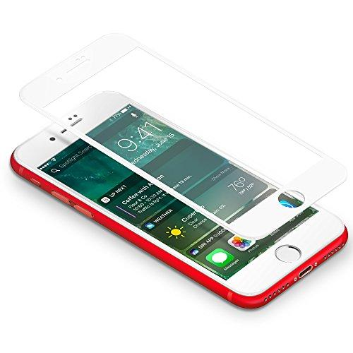 iPhone 7 Protector de Pantalla Coolreall 3D Blanco Completo Cobertura