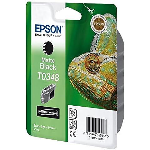 Epson C13T03484010 - Cartucho de tinta, negro mate