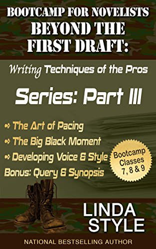 Bootcamp for Novelists Beyond the First Draft: Writing Techniques of the Pros: Series: Part III (Bootcamp for Novelists Beyond the First Draft: Writing Techniques of the Pros Series: Part III Book 3)