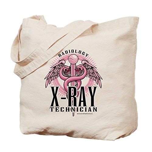 CafePress–X-Ray Tech Caduceus Pink–Leinwand Natur Tasche, Reinigungstuch Einkaufstasche