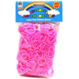 Loom Bandz - Rainbow Colours - Pink 600 Count