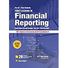 FIRST LESSONS IN FINANCIAL REPORTING (incl Nov 2017 paper)