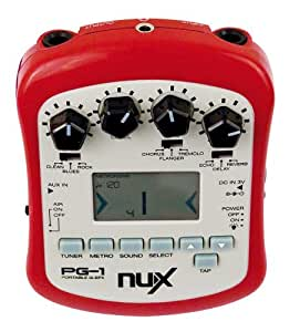 Technote NUX PG-1 Guitar Effects Processor, Tuner and Metronome