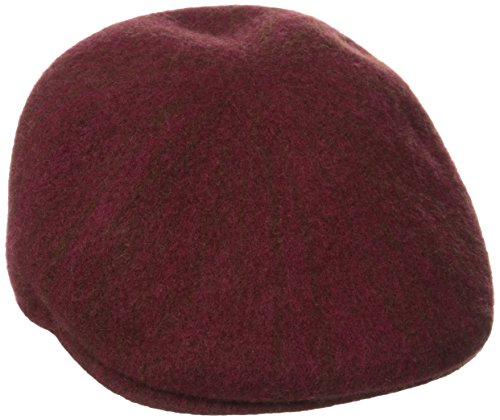 Kangol Melange 507, Casquettes Plates Homme Red (claret)