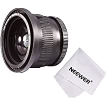 Neewer 52 mm 0.35x Super Fisheye - Objetivo para Nikon D5300, negro