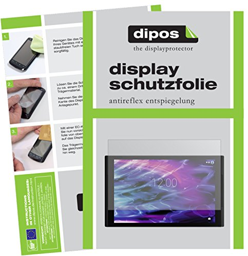 dipos I 2X Schutzfolie matt passend für Medion LifeTab X10311 Folie Bildschirmschutzfolie