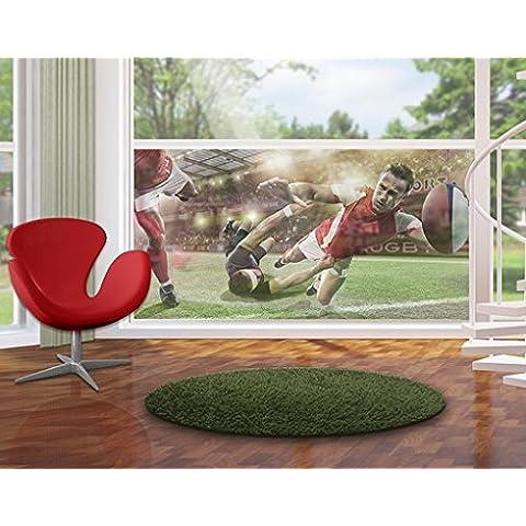 Pellicola per vetri Rugby In Motion, Größe:72cm x 144cm