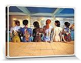 Pink Floyd Poster Reproduction Sur Toile, Tendue Sur Châssis - Back Catalogue (120 x 80 cm)