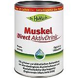 Collagen Peptide mit 90% Proteine für Muskelaufbau. Muskel Direct AktivDrink. Ohne Milcheiweiß, Allergene, Lactose, Purin und Gluten. 225 g Pulver von Dr. Hittich