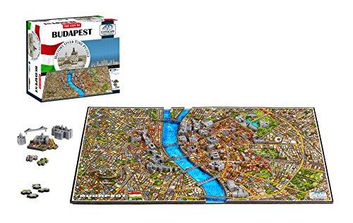 4D Cityscape 40088 Budapest Puzzle