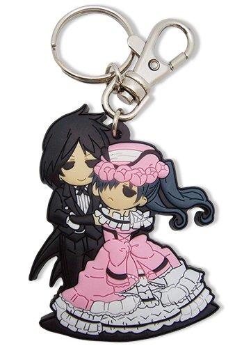 Great Eastern Entertainment Black Butler Sebastian & Ciel Dance PVC Keychain