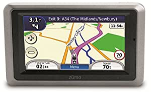 """Garmin zumo 660LM 4.3"""" Motorbike Sat Nav with UK and Full Europe Maps, Free Lifetime Map Updates and Bluetooth"""