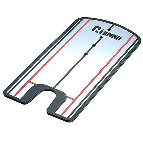 IINNII Putting Spiegel Training Hilfe - Üben Sie Ihr Putting Alignment Tool (Gesicht Putter)