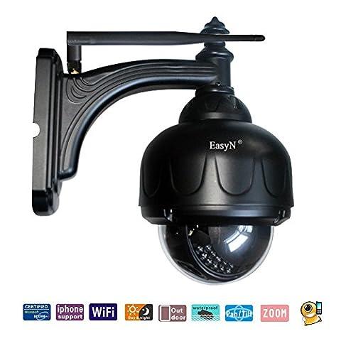 Easyn Wasserdicht PTZ Wifi IP-Überwachungskamera CCTV-Überwachungskamera mit dem dreifachen Optik Zoom 3 Digital Zoom IR-Nachtsicht