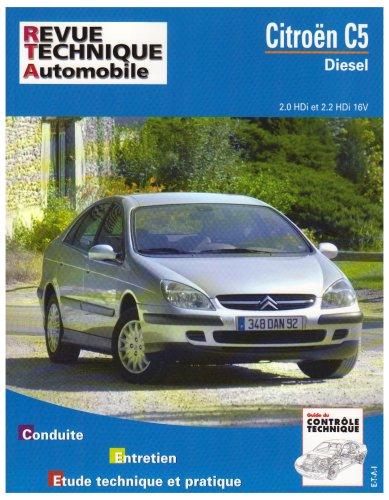 Revue Technique 654.1 Citroën C5 Diesel (2001)