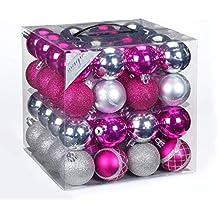 Christbaumkugeln Magenta.Weihnachtskugeln Pink Suchergebnis Auf Amazon De Für