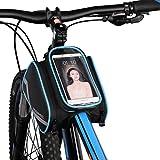 vertast Fahrrad Rahmen Tasche vorne oben Tube Touchscreen Phone Bag Wasserdicht Reflektierende Fahrrad Rahmen Paar Tasche für Bike Werkzeug iphone Samsung HTC, blau