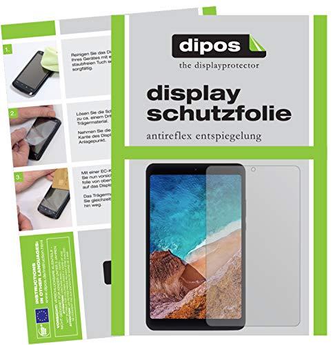 dipos I 2X Schutzfolie matt passend für Xiaomi Mi Pad 4 Folie Bildschirmschutzfolie