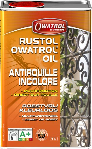 Owatrol - Antiruggine Multifunzione E Additivo Per Pittura, 1 L