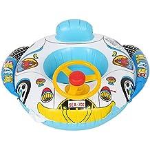 Zerodis Anillo de la natación del asiento de carro, círculo inflable del nadador del barco