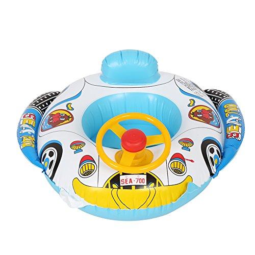 Zerodis Autositz Schwimmring Schwimmbrett Rettungsring Wasserspielring für Wasserspaß Familienspaß