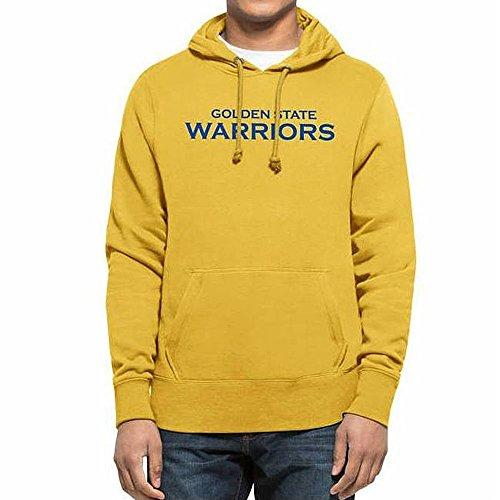 47 Brand Kapuzenpullover – Nba Golden State Warriors gelb Größe: M (Medium) (Brand State 47 Golden Warriors)