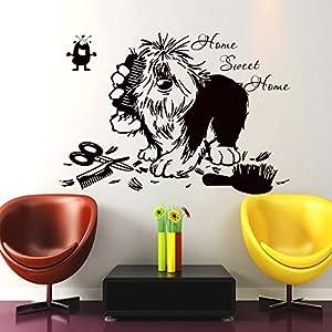 clinica mascota: Pegatina pared vinilo escaparates 57 x 80 cm peluquerias caninas residencias de ...