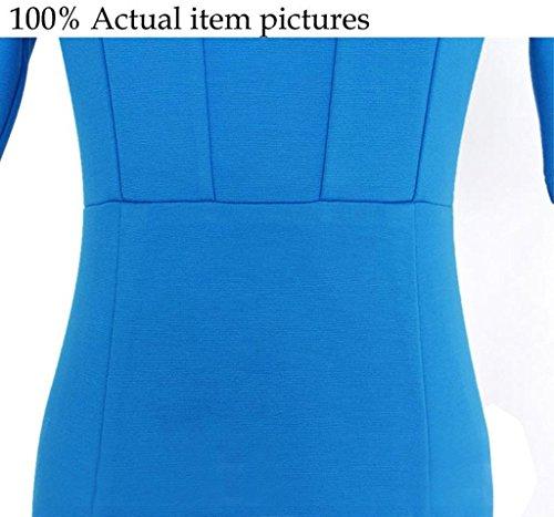 Damen Minikleid Wickeloptik T-Shirts Kleider Freizeitkleid Blusenkleider Kragen Herbst Hülsen Tunikakleid Normallacks Khaki