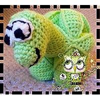 PUZZLE BALL MONTESSORI DINOSAURIO GANCHILLO AMIGURUMI PERSONALIZABLE (Bebé, crochet, ganchillo, muñeco,