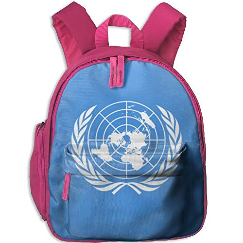 YingaiOK Flag of The United Nations Kid and Toddler Student Backpack School Bag Super Bookbag (United Nations-flag)