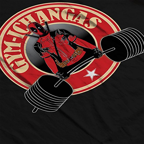 Gymichangas Deadpool Chimichanga Gym Men's Vest Black