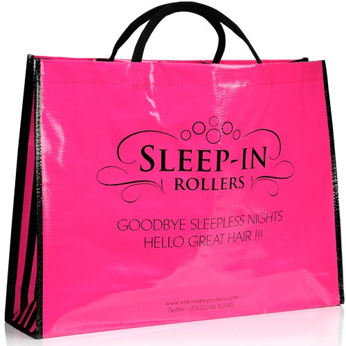 Sleep-In Rollers Durable Carrier Bag