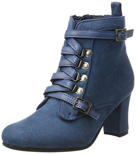 Damen Stiefel Trachten (Hirschkogel by Andrea Conti Damen 3611506 Stiefel, Blau (Jeans), 39)