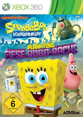 SpongeBob Schwammkopf - Planktons fiese Robobo-Rache - [Xbox 360] (Spongebob 360 Xbox Spiele Für)