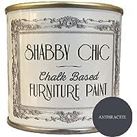 Pintura para muebles en color antracita, con tiza, ideal para muebles, estilo de Shabby Chic, 250ml