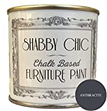 Pintura para muebles en color antracita, con tiza, ideal para muebles, estilo de Shabby Chic, 250 ml