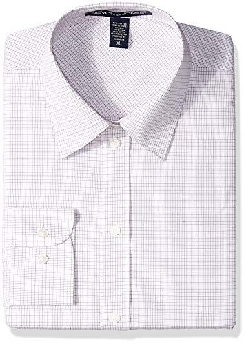 D & Jones Herren Soft Shell Jacket Smokinghemd, Wht/Burg/Slvr, X-Groß (Burg-jacken)