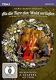 DVD Cover 'Als die Tiere den Wald verließen, Staffel 3 - Remastered Edition / Die komplette 3. Staffel der Kultserie nach dem gleichnamigen Roman von Colin Dann (Pidax Animation) [2 DVDs]