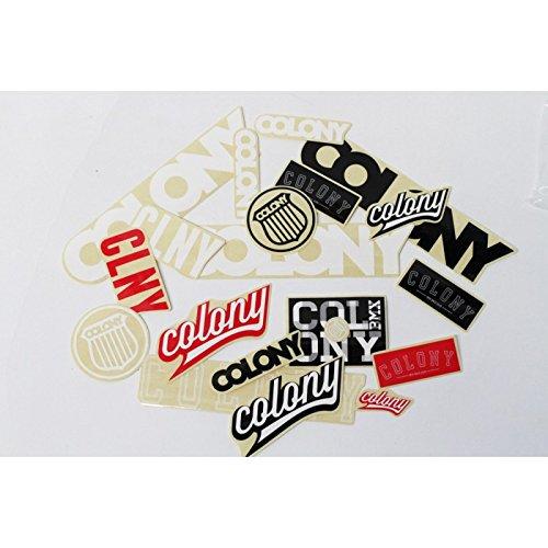 Colonie Sticker Vélo BMX assortis Lot de 20stickers