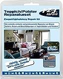 1-2-3 REPAIR Teppich Polster Reparatur Set Polsterreparatur Brandloch Reparaturset 13-tlg