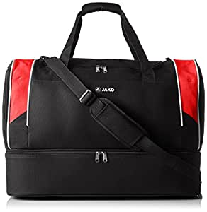 Jako Sports bag Attack 2.0with base compartment, Unisex, Sports Bag, Sporttasche Attack 2.0, black/red