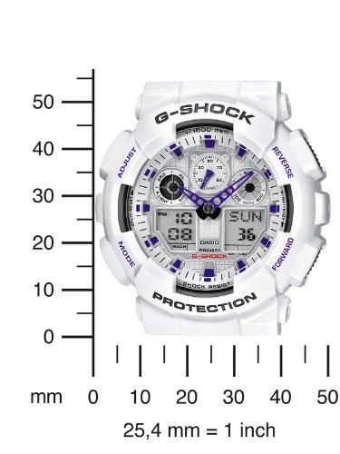 7376993dac08 CASIO G-Shock GA-100A-7AER - Reloj de caballero de cuarzo